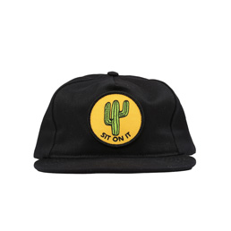 BC Sit On It Hat Black