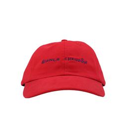 BC Handwritten Logotype Hat Red