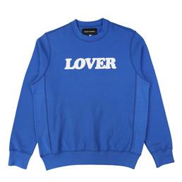BC Lover Crew Pullover Blue/ White