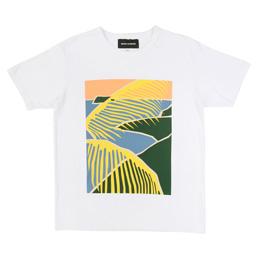 BC Beach Scene T-Shirt White