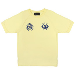 BC Acid Sun Athletic T-Shirt Butter Yellow
