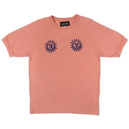 BC Acid Sun Athletic T-Shirt Salmon