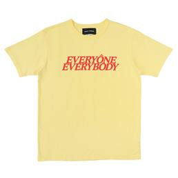 BC Everyone Everybody T-Shirt Yellow