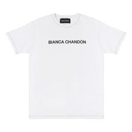 BC Contrast Stitch Logotype T-Shirt - White