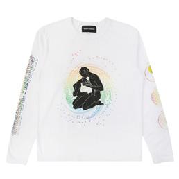 BC Spiritual Practice LS T-shirt - White