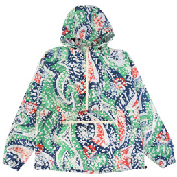 BC Packable Hood Anorak - Blue/Green