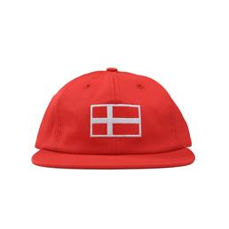 BC Flag Hat (Denmark) - Red
