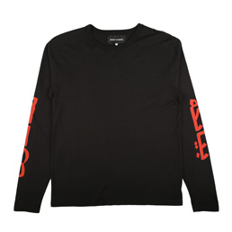 Bianca Chandon Arabic Logotype LS T-Shirt Black