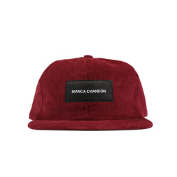 Bianca Chandon Logotype Label Polo Cap Brick