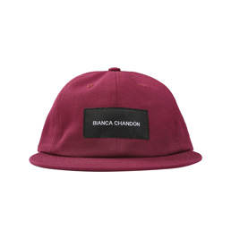 BC Logotype Label Hat - Raspberry