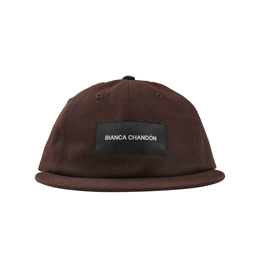 BC Logotype Label Hat - Coffee