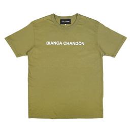 Bianca Chandon Logotype T-Shirt Olive