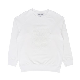 Bianca Chandon NY Floral Crew - White
