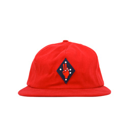 Bianca Chandon Peace Polo Hat - Red