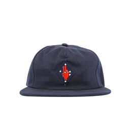 Bianca Chandon Peace Polo Hat - Navy