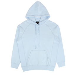 Bianca Chandon Reverse Fleece Pullover Hood Blue