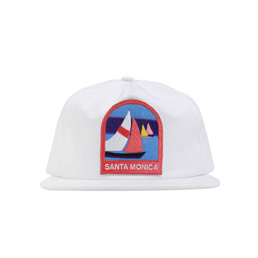 Bianca Chandon Santa Monica Hat White