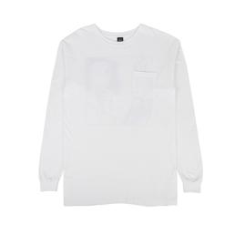 Brain Dead Cyborg L/S T-Shirt White