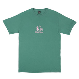 Brain Dead Catch Me T-Shirt Seafoam