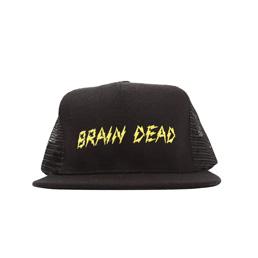 Brain Dead Bolt Hat Black