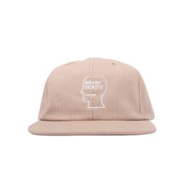 Brain Dead Logo Hat Pink