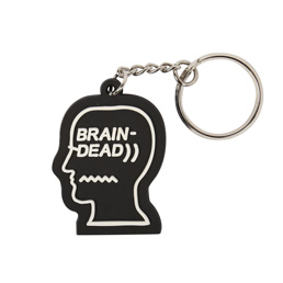 Brain Dead Logo Keychain