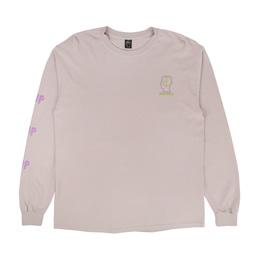 Brain Dead 2UP Psycho Primitive L/S T-Shirt Pink