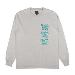 Brain Dead Psychedelicatessen LS T-Shirt Natural