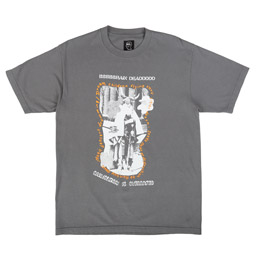 Brain Dead Civilisation T-Shirt Charcoal