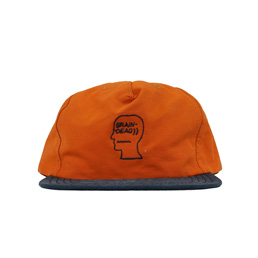 Brain Dead 60/40 Logo Cap Burnt Orange