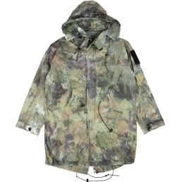 Brain Dead No Ghost Shell Parka Camo