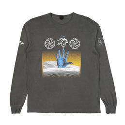 Braindead Chaos LS T-Shirt Washed Black