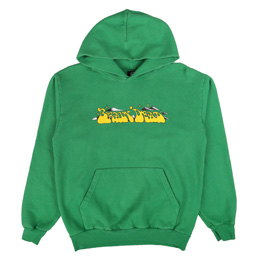 Braindead Free Jazz Hoodie Kelly Green