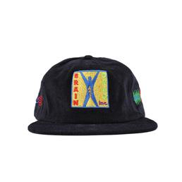 Braindead Start Up Corduroy Hat Navy