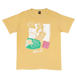 Braindead Medication T-Shirt Yellow