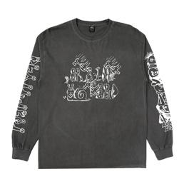 Braindead Leon's Girls LS T-Shirt - Black
