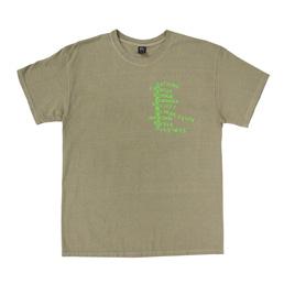 Braindead Heatwave SS T-Shirt - Natural