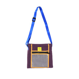 BD Rush Hour Tote Bag - Purple/Golden Yellow