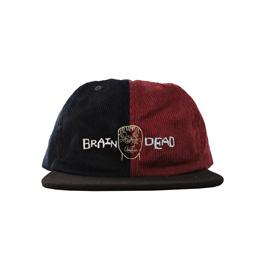 Braindead Colorblocked Strap Back - Navy/Maroon/Bl