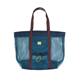 Brain Dead Equipment Mesh Beach Tote Blue