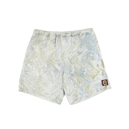 Brain Dead Sunburst Logo Beach Short Marble