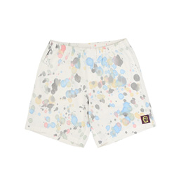 Brain Dead Sunburst Logo Beach Short Splatter