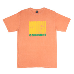 Brain Dead Equipment S/S T-Shirt Terracotta