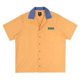 Brain Dead Works S/S Bowling Shirt Yellow