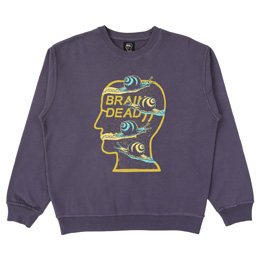 BD Snail Trail Crewneck - Washed Navy