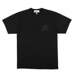 Better Leopard T-Shirt Overdyed Black