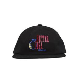 Better Gift Shop Snapback Hat Black