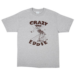 BIB Crazy Eddie T-Shirt - Grey