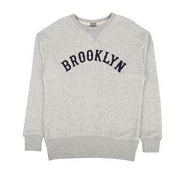 Ebbets Brooklyn Eagles Crewneck Sweat Grey