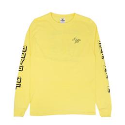 Boys Of Summer Shrimpin L/S T-Shirt Yellow